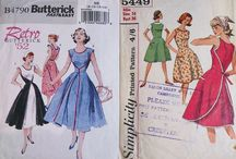 My vintage patterns / vintage sewing patterns in my vast collection...