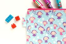 One Busy Sloth - Pencil Case / Stationery Case / Pencil cases for stationery addicts.