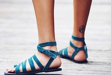Sandals and flats