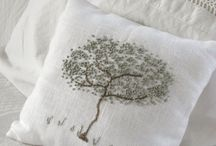 alberi embroidered