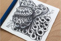 Tangles and zentangles