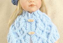 pletení a háčkování na panenky