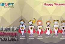 Happy Women's Day 2014! / You are more powerful than you know. Team Mobisoft Infotech wishes you Happy Women's Day 2014!