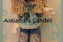 muñecos Ale