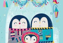 Beautiful illustrations for kids / Illustrations, art, prints, art for kids room, nursery room, home decor art prints