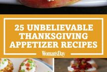 Thanksgivings appetizers