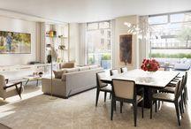 formal/informal living room