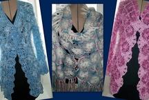 Loom knitting / Вязание с помощью приспособления для изготовления цветов