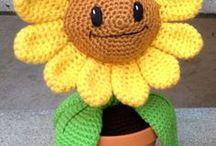 Hæklet Blomster