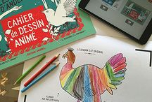 Les Contes d'Andersen - Cahier de Dessin Animé / Découvrez le Cahier de Dessin Animé - Les Contes d'Andersen.   #CahierAnimé #coloriages #livres #enfants #diy #creativetech