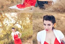 Pin up style photography / by Amanda Niehaus