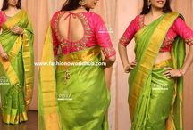 Blouse contrast for aththa