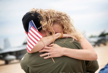 Homecoming (Military) Photography Ideas