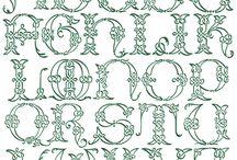 Celtic letters