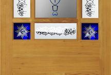9 Panel Doors & Glass Packs