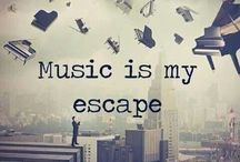 music is my escape........
