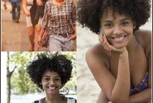 Negritude / diversidade de cabelos tons de pele entre outros