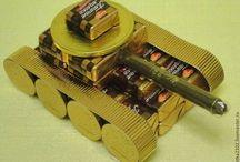 Из конфет