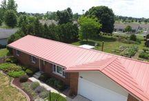 Terra Cotta Metal Roof