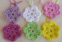 Crochet Flowers and appliques / by Heather Mullins