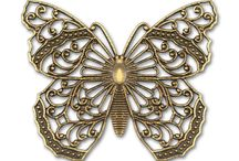 Butterfly filigree