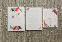 wedding inspiration ~ invitations and design / by Nikki Moore