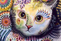 Gatos Dibujos De