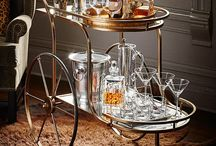 Bar Carts / An affinity for bar carts / by Danielle Petoukhoff