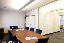 Fire Rated Frameless Glass Partitioning