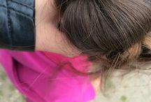 Kleinkind Frisur  / Man muss einen Zopf unten machen und dann alles eindrehen und mit 2  haargummis befestigen ❤️❤️