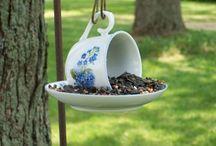 Alimentadores de pássaros