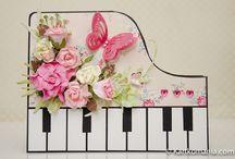 Card ideas - music / by Bobbie Sumpter