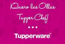 Concurso ¨¡Quiero las Ollas Tupper Chef!¨ / Un divertido concurso de Tupperware® para que cambies las ollas que tienes por Ollas Tupper Chef.  / by Tupperware México