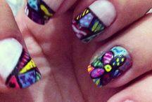 Nails ... mine! Unhas decoradas / UNHAS DECORADAS