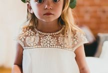 Flower girl dressed
