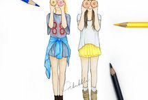 Bestie drawings