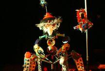 Dom Quixote / Bonecos em sucata plástica para o coletivo Miasombra