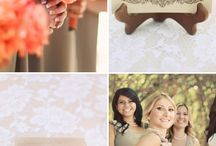 {Color Palette} Peach Weddings