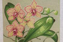 накатки цветы