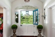 DECOR - There's the door / Because first impressions matter the most!