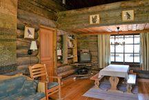 Finnish cottage interiors