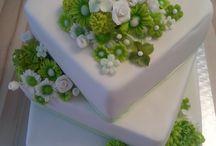 Dorty a kytky / svatební