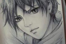 Attack on Titan fan art (Shingeki no kiojin)