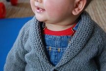 BabyPerson Knits / Unisex baby knit ideas, both in color and pattern