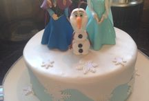 Micayla's 8th Birthday Party / 8 frozen birthday