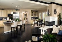 Open plan Kitchen & Livingroom