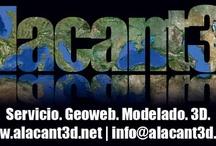 Alacant3D | Servicio. Geoweb. Modelado. 3D | España / Alacant3D nace de la idea de realizar modelados en 3D para GoogleEarth™/Maps™, consiguiendo una conexión entre lo virtual y el mundo físico, con el objetivo de llegar a futuros clientes. info@alacant3d.net