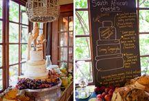 Entertaining - Wedding cheese cake
