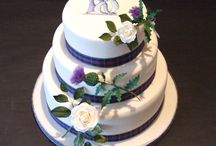 Jackson 40th wedding cake / Ideas for a suitable cake for the Jackson wedding anniversary need to be elegant but personal