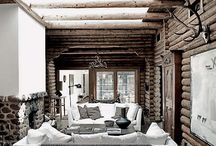 Winter inspiration  / Garden, house, winter, decor